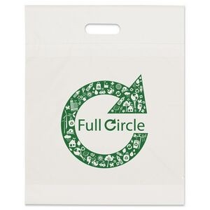 "Eco Die Cut Handle Bag (15""x19""x3"")"