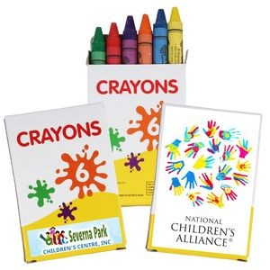 6 Pack of Crayons