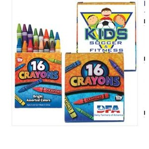 16 Pack Crayons